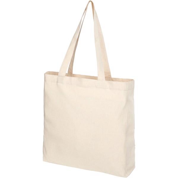 Pheebs nákupní taška vyrobená ze směsi recyklované bavlny a polyesteru 210 g /m² - Natural