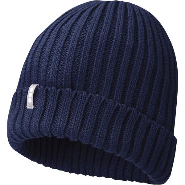 Ives organiczna czapka - Granatowy