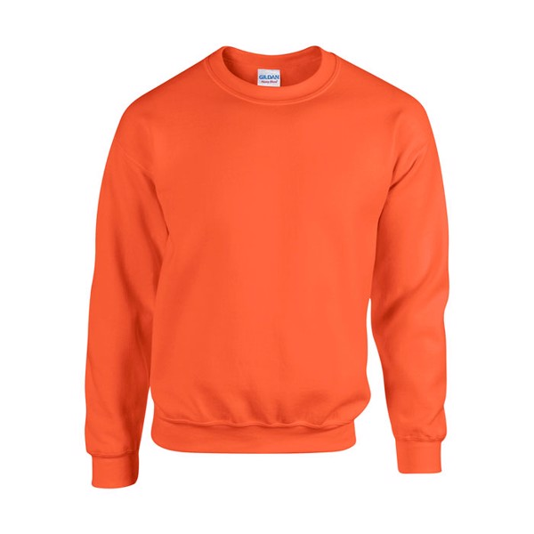 Unisex Bluza 255/270 g/m2 Heavy Blend Sweat 18000 - Pomarańczowy / XL