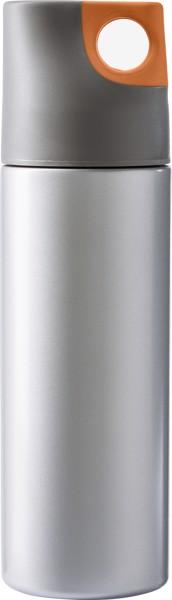 Isolierflasche 'Alabama' aus Edelstahl - Orange