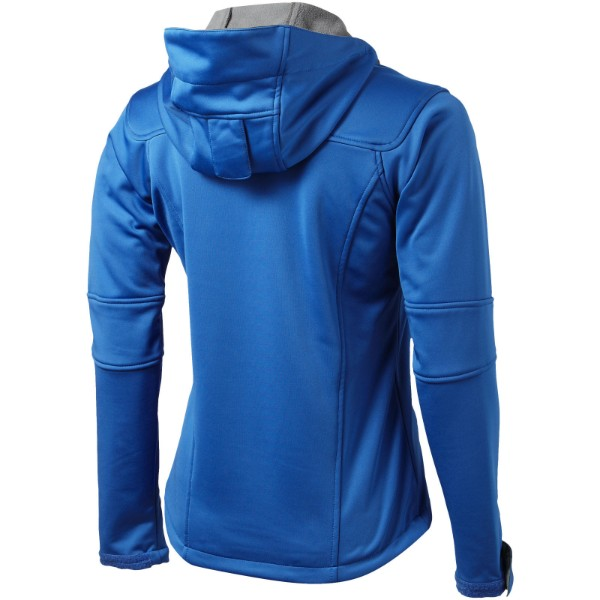 Match ladies softshell jacket - Sky blue / XXL