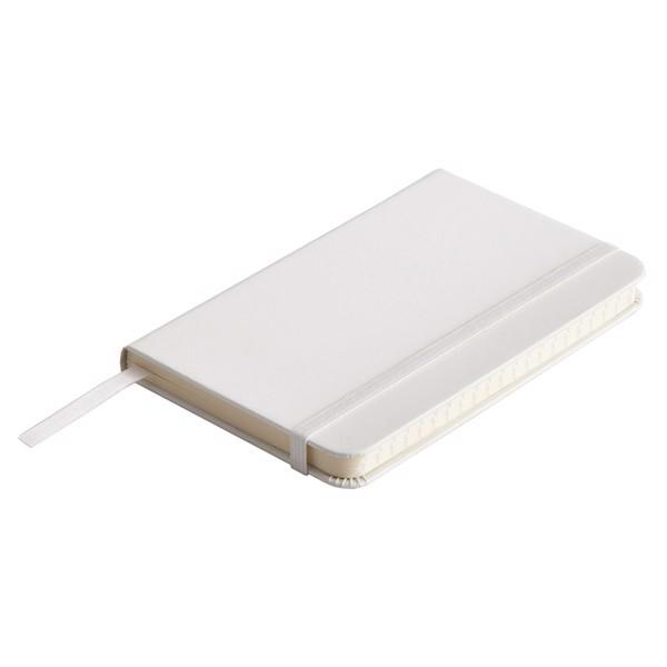 Notatnik Badalona 90x140/80k linia - Biały