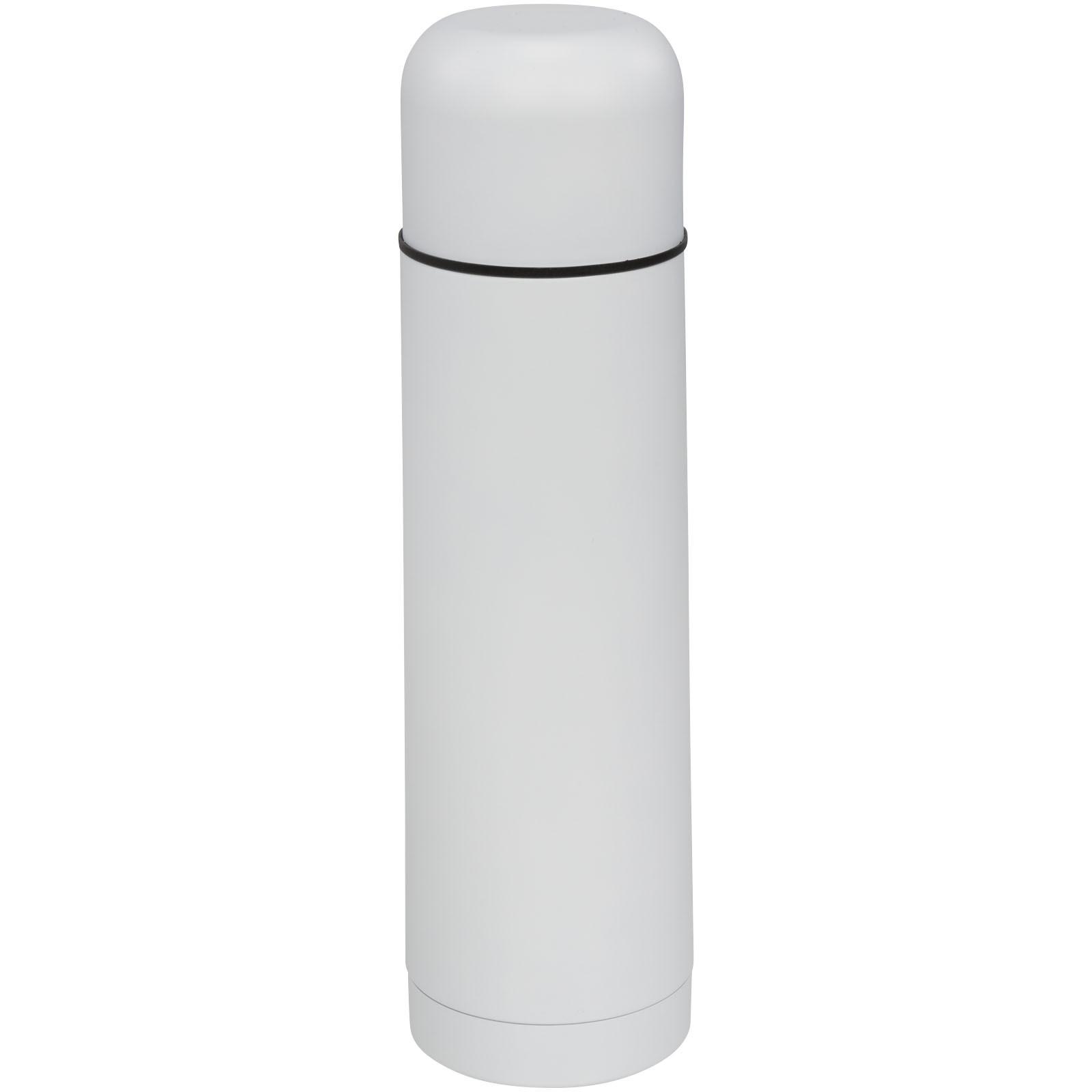 Matová vakuová termoska Gallup 500 ml - Bílá