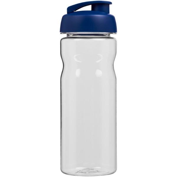 Sportovní láhev s vyklápěcím víčkem Base Tritan™ 650 ml - Průhledná / Modrá