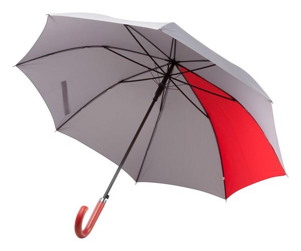 Deštník Stratus - Šedá / Červená