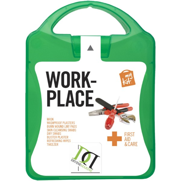 MyKit Workplace First Aid Kit - Green