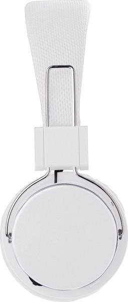 Wireless Kopfhörer 'Independent' aus Kunststoff - White