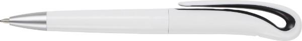 Kugelschreiber 'Ibiza' aus Kunststoff - Black