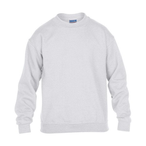 Kids Sweatshirt 255/270 g/m2 Youth Crew Neck 18000B - White / M