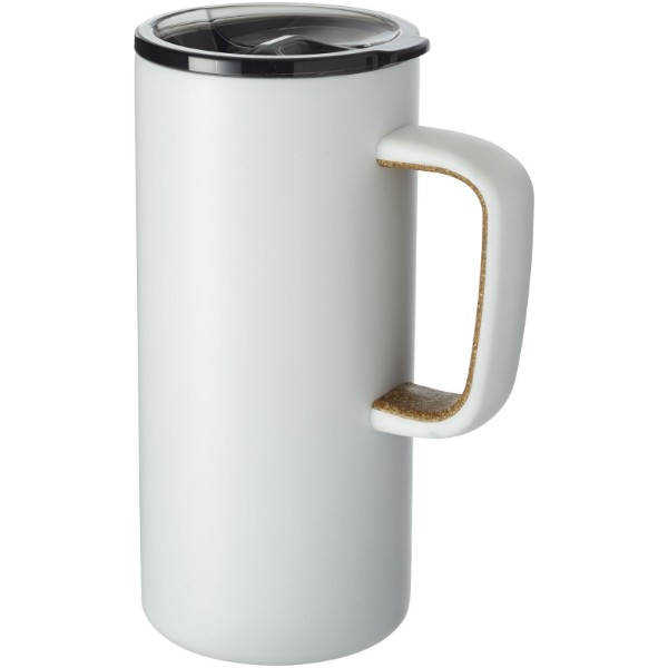 Valhalla 500 ml copper vacuum insulated mug - White