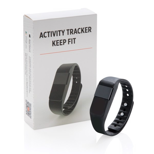 Activity tracker Keep fit - Black
