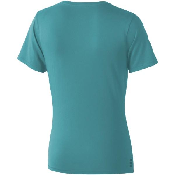Dámské triko Nanaimo s krátkým rukávem - Tyrkysová / XL