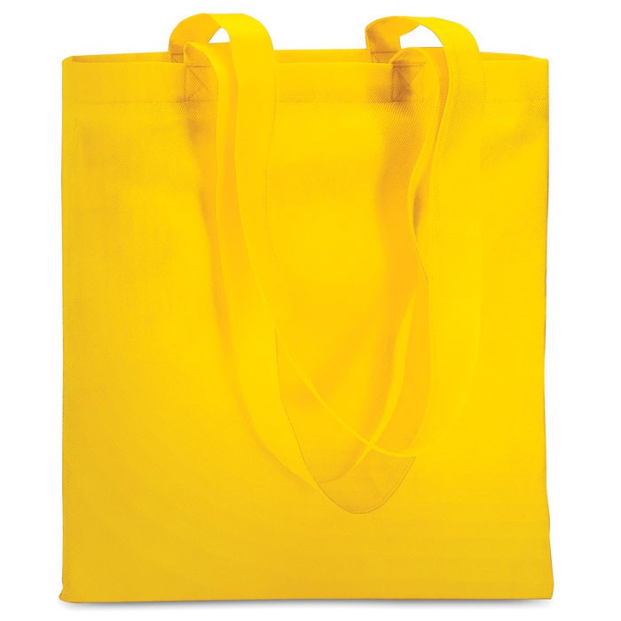 Shopping bag in nonwoven Totecolor - Yellow