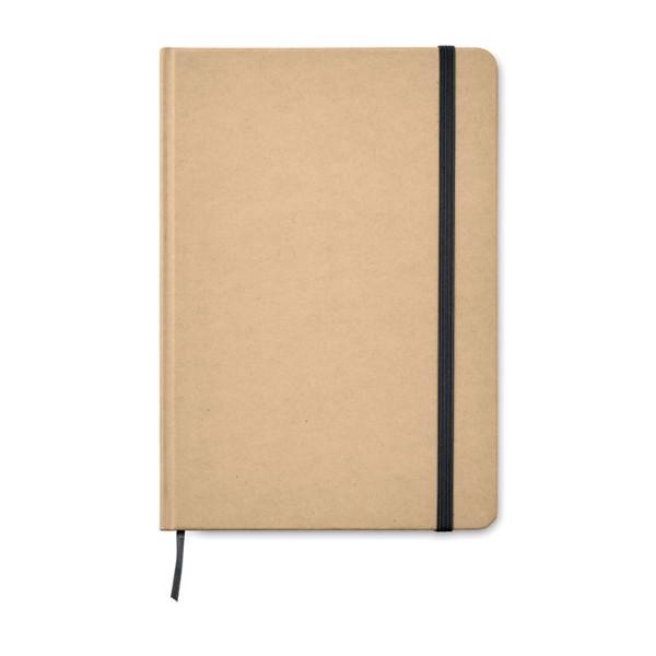 DIN A5 Notizbuch recycelt Everwrite - schwarz