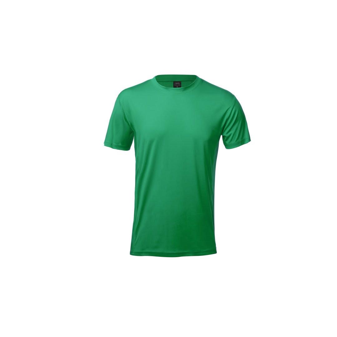 T-Shirt Adulto Tecnic Layom - Verde / XL