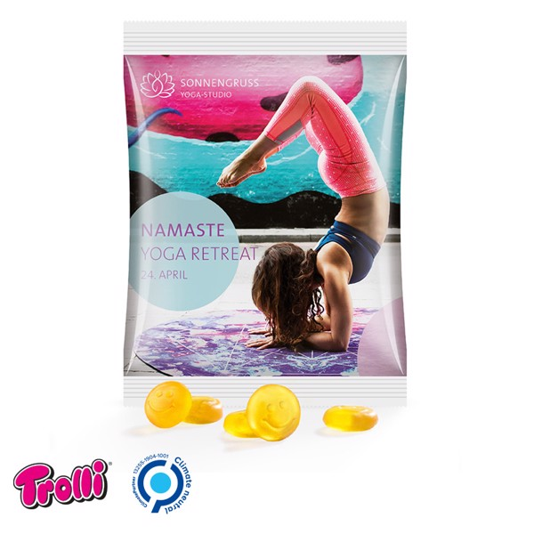 Jelly Gums Maxi Bag, Standard Shape, Car - White