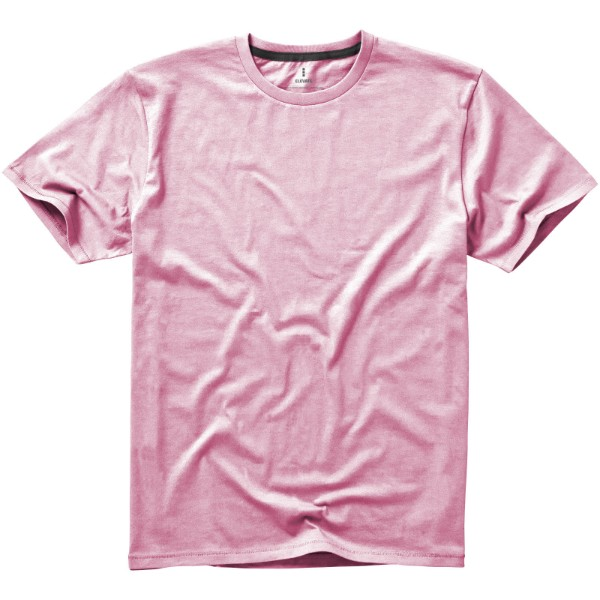 Nanaimo short sleeve men's t-shirt - Light pink / M