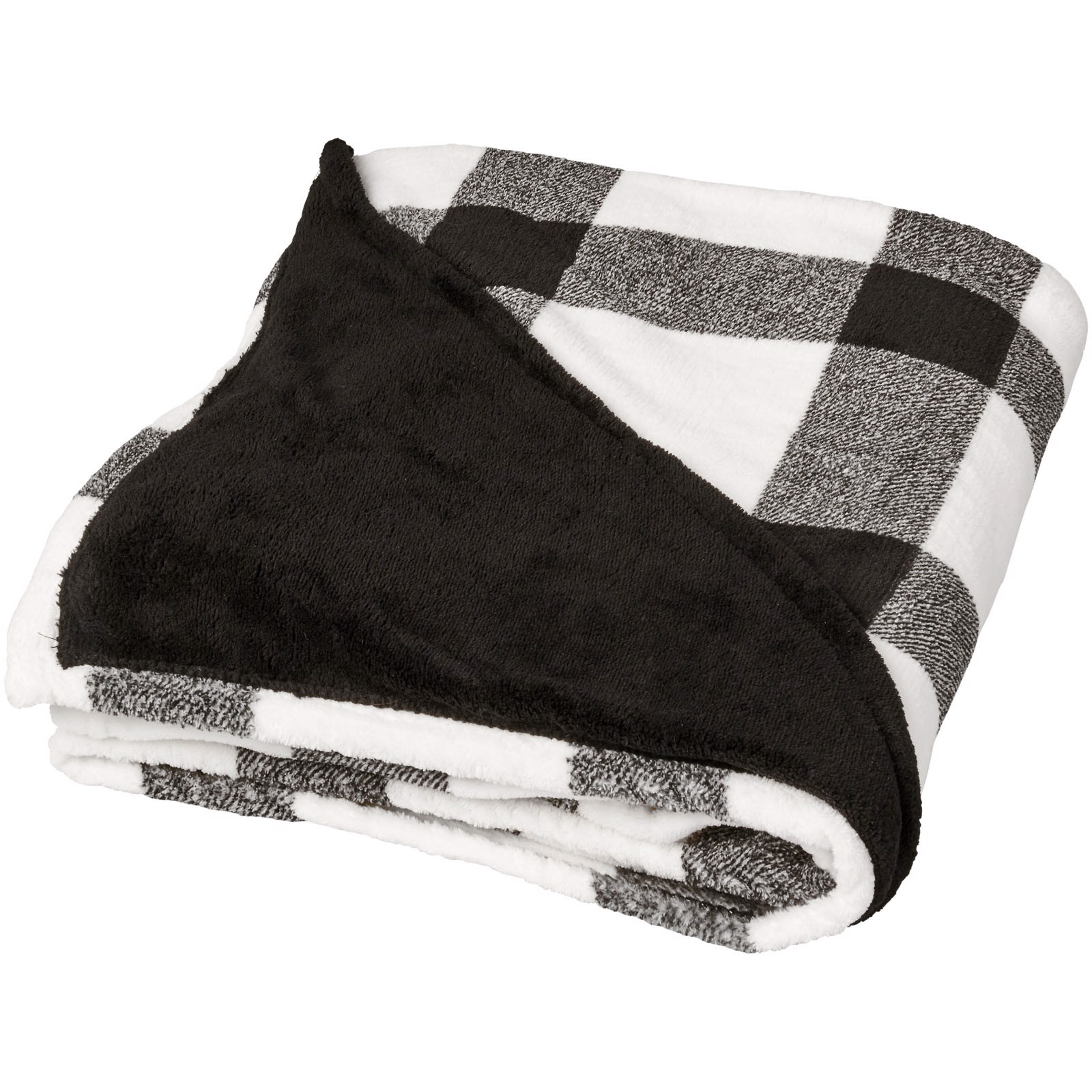 Buffalo ultra plush plaid blanket - White