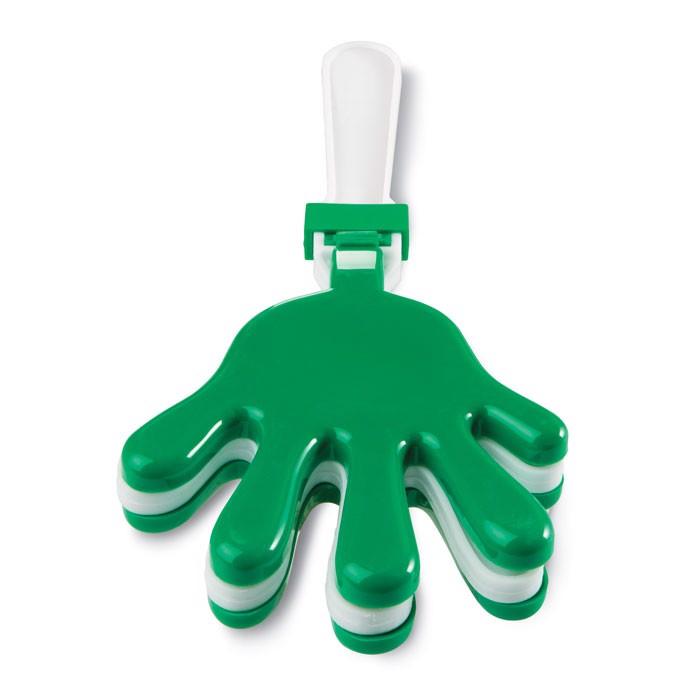 Rapkáč ve tvaru dlaně Clap - green
