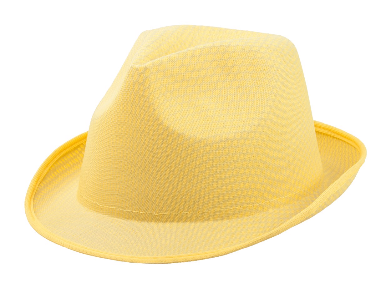 Klobouk Braz - Žlutá