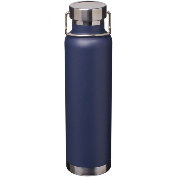 Thor 650 ml copper vacuum insulated sport bottle - Navy