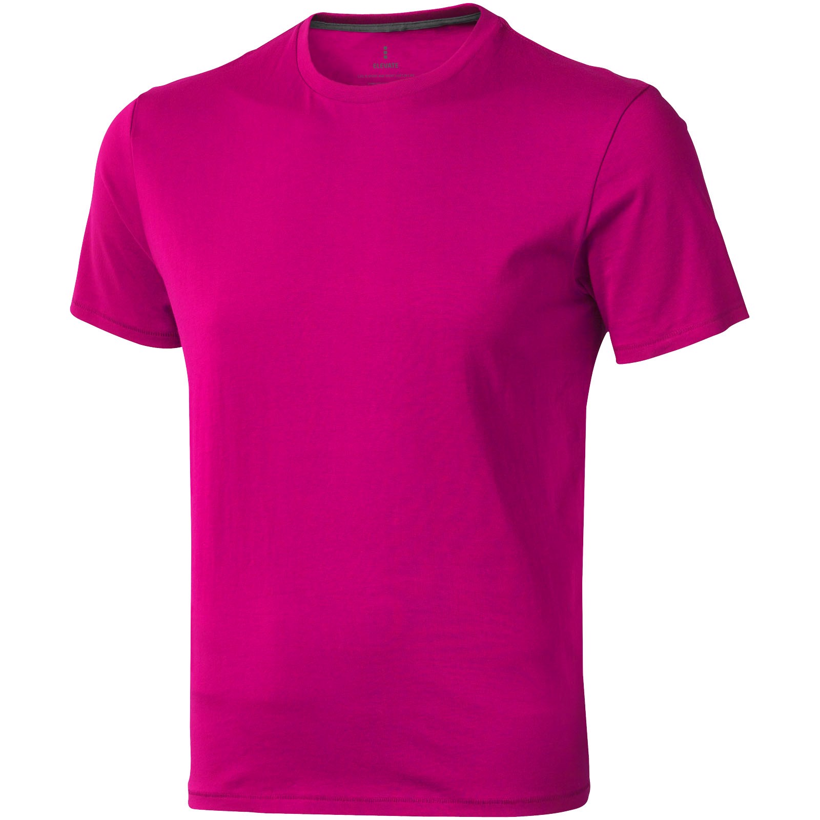 Nanaimo short sleeve men's t-shirt - Magenta / XXL