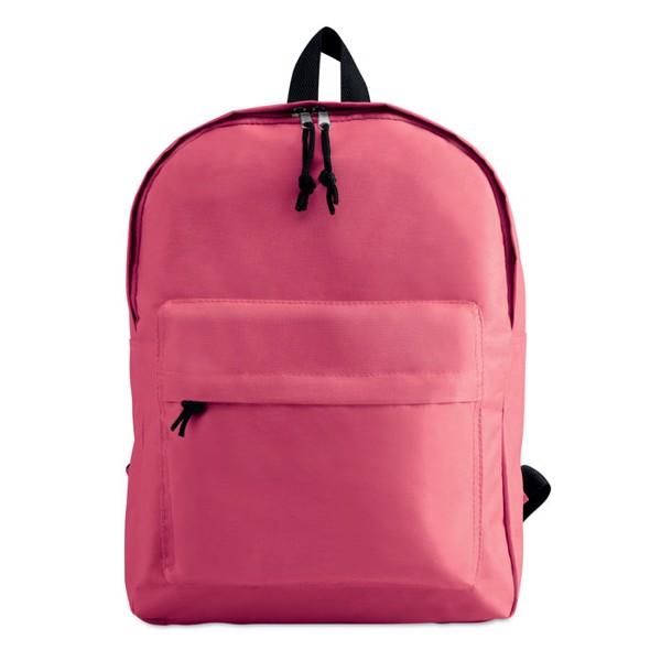 600D polyester backpack Bapal - Fuchsia