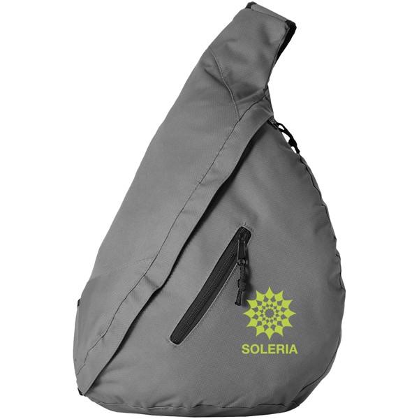 Městský trojúhelníkový batoh Brooklyn - Šedá
