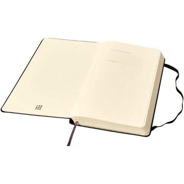 Classic Expanded L hard cover notebook - ruled