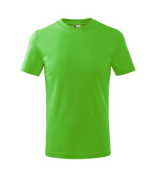 Tričko dětské Malfini Basic - Apple Green / 134 cm/8 let