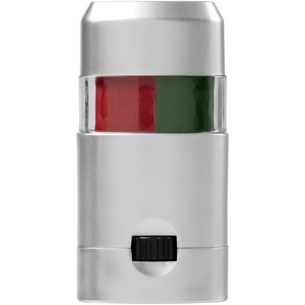 Velox barva na tělo - Zelená / Červená s efektem námrazy