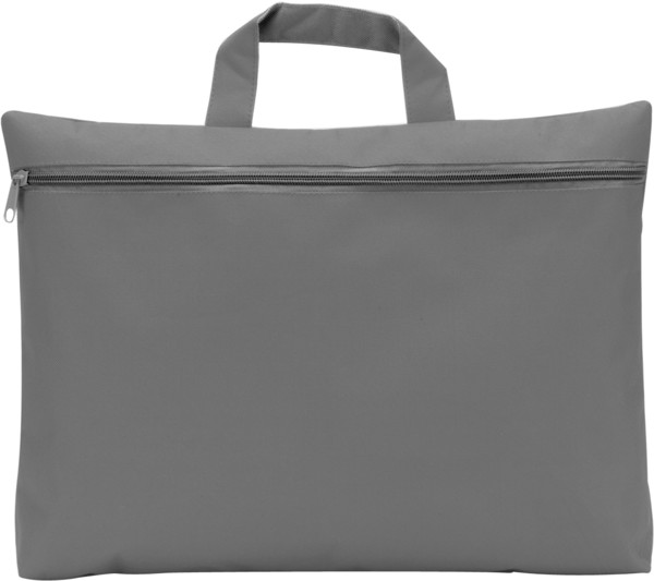 Polyester (600D) conference bag - Grey