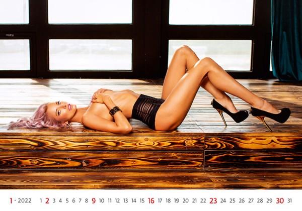 Měsíční kalendář Flirt 2022