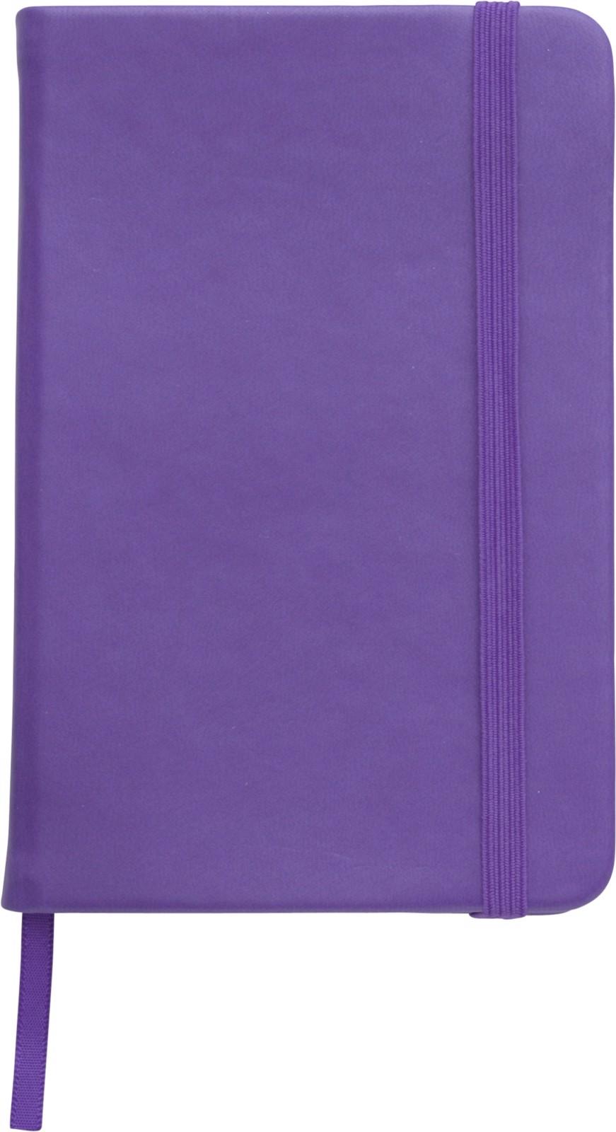 PU notebook - Purple
