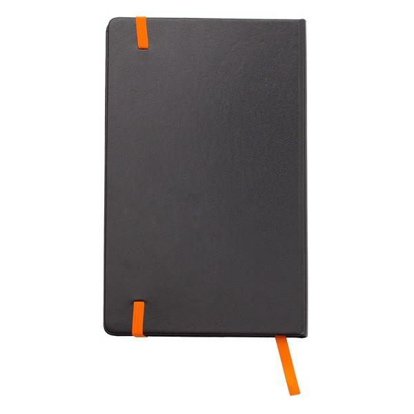 Notatnik 130x210/80k kratka Sevilla - Pomarańczowy