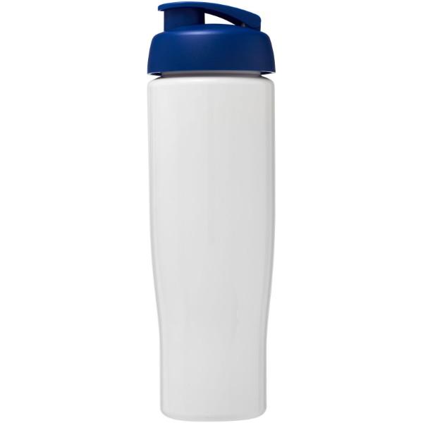 H2O Tempo® 700 ml flip lid sport bottle - White / Blue