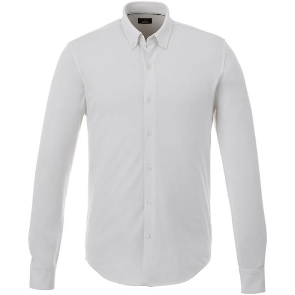 Pánská košile Bigelow s dlouhým rukávem - Bílá / XS