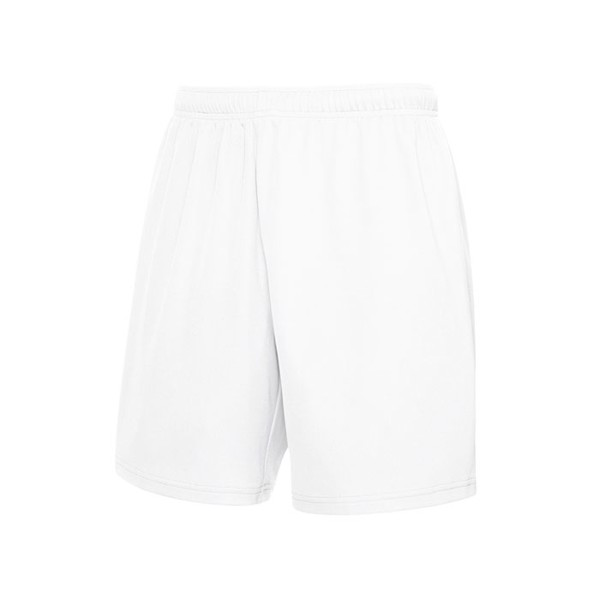 Unisex Pants Sports Performance Short 64-042-0 - White / XXL