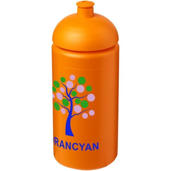 Sportovní láhev s kupolovitým víčkem Baseline® Plus grip 500 ml - 0ranžová