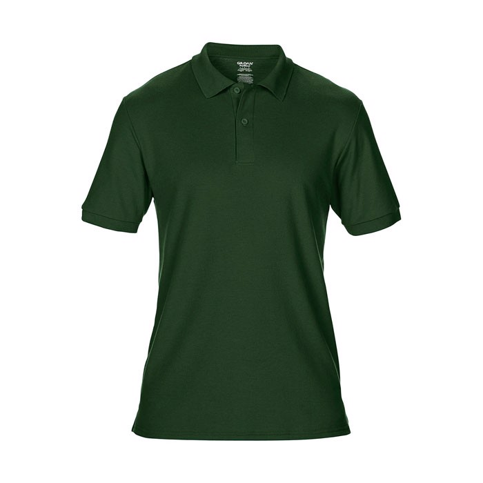 Men's Polo Shirt 207/220 g/m Dryblend Double Pique 75800 - Forest Green / S
