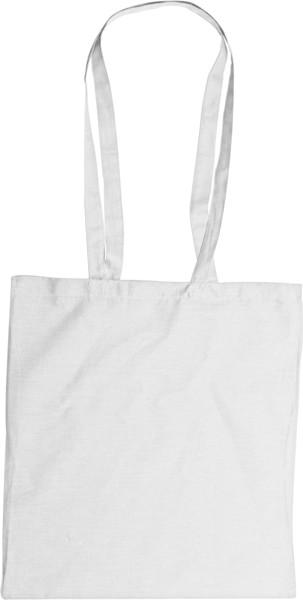 Cotton (110 gr/m²) bag - White