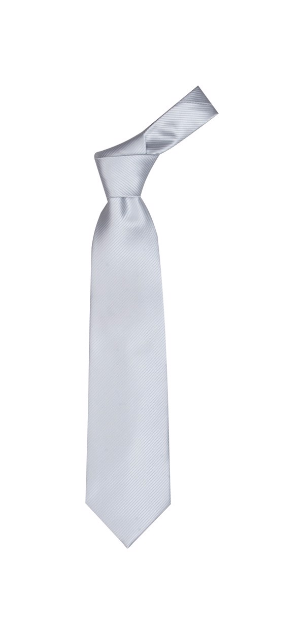 Necktie Colours - Silver