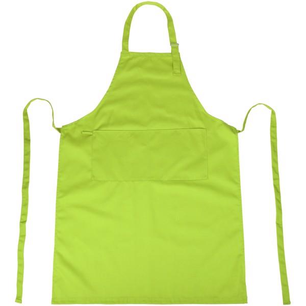 Zora Schürze mit verstellbarem Nackenhalter - Limone