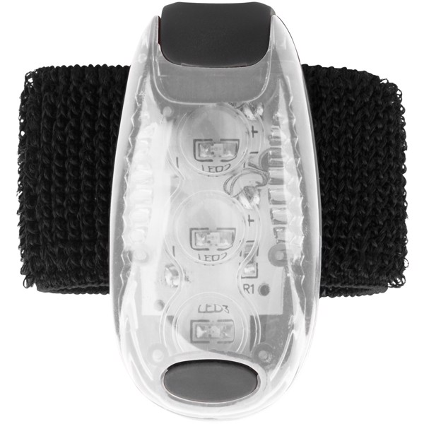 Rideo red reflector light - White / Solid Black