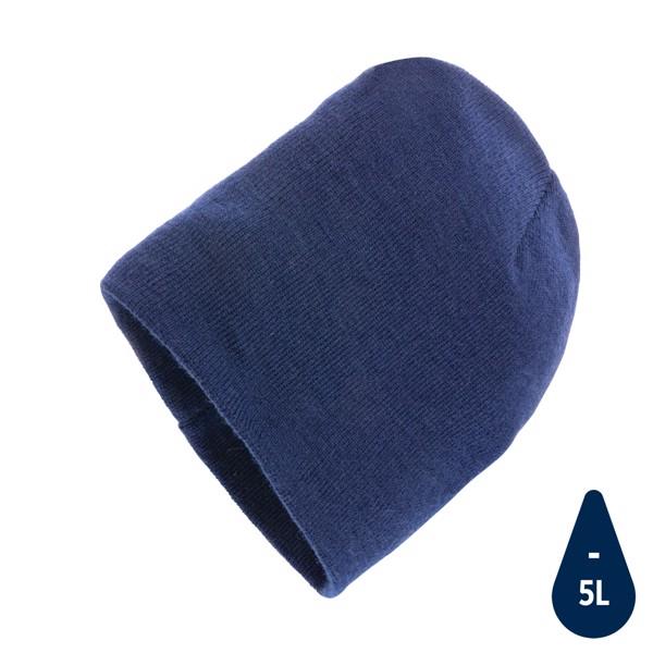 Klasická beanie čepice Impact z Polylana® AWARE™ - Námořní Modř