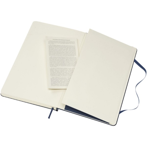 Classic L hard cover notebook - dotted - Sapphire blue