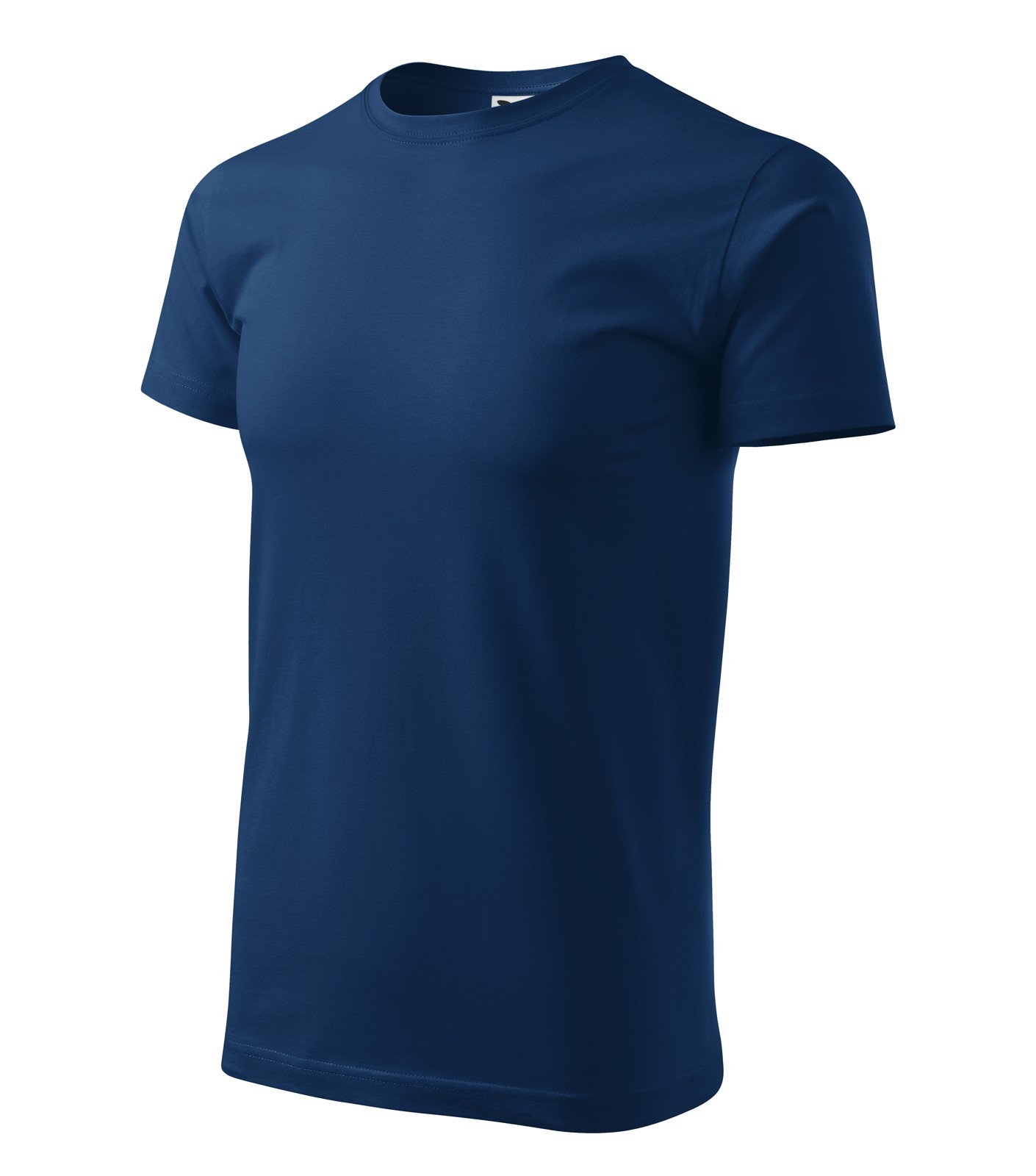 T-shirt men's Malfini Basic - Midnight Blue / 4XL