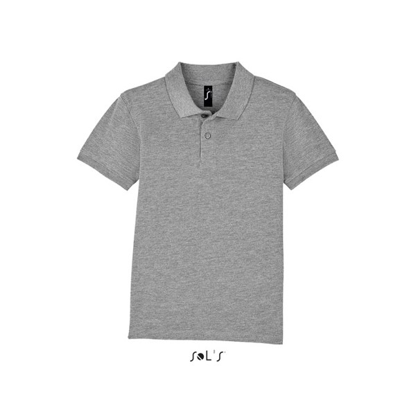 PERFECT-gyermek póló 180g Perfect Kids - grey melange / XXL