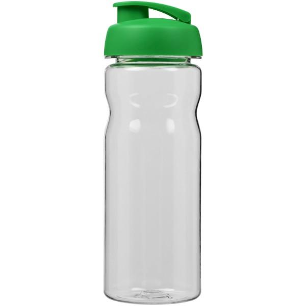 H2O Base Tritan™ 650 ml flip lid sport bottle - Transparent / Green
