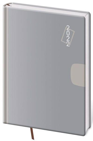 Týdenní diář A5 Vario Grey 2022